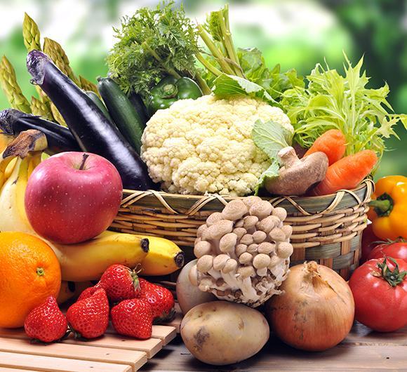 Produits de qualité fruits et légumes